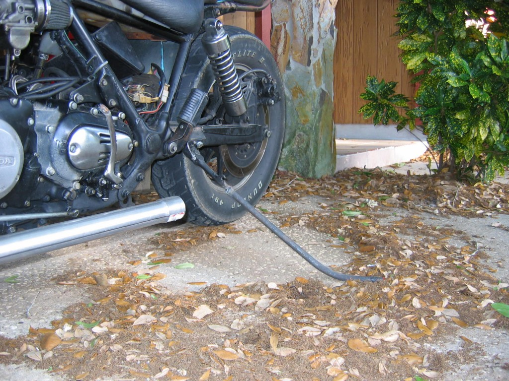 Wiring Harness Boots : Honda cb chopper misinformation and the art of