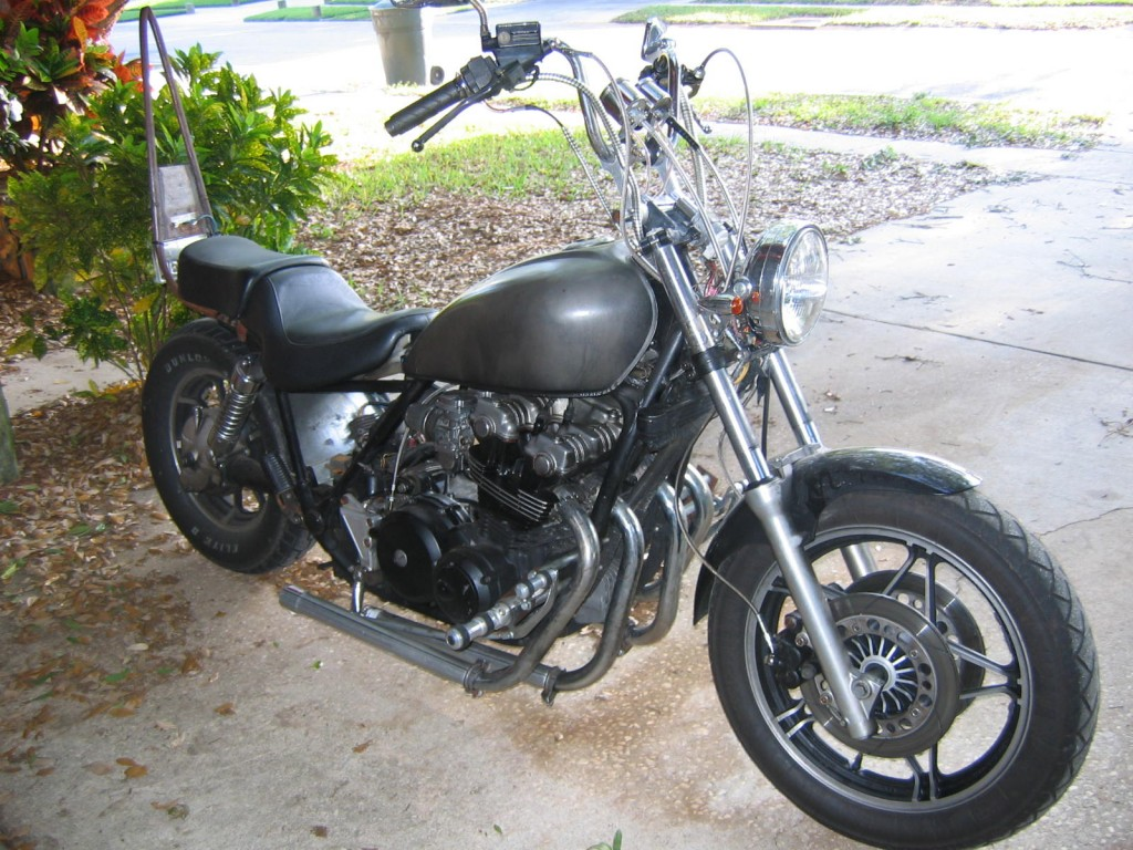Terrific 1982 Honda Cb900 Chopper Misinformation And The Art Of Squirreltailoven Fun Painted Chair Ideas Images Squirreltailovenorg