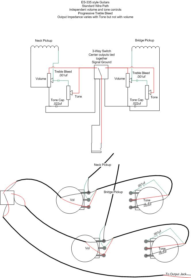 guitar wiring schemes